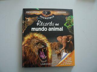 Libro Récords del mundo animal