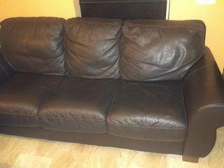 Sofa de piel cuero