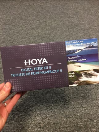 Hoya - Kit filtros objetivos 18-55mm