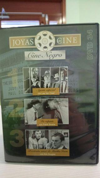cine negro dvd 3 películas