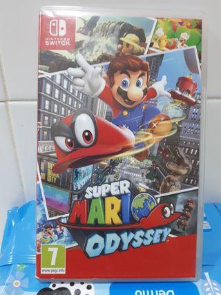 Videojuego super Mario Odyssey
