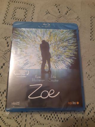 Zoe, Bluray nueva