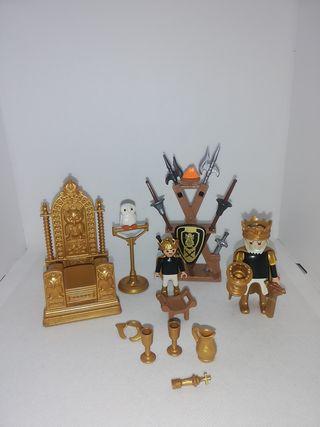 trono playmobil