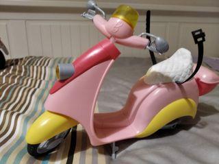 Moto de la Barbie