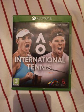 AO INTERNATONAL TENNIS XBOX ONE