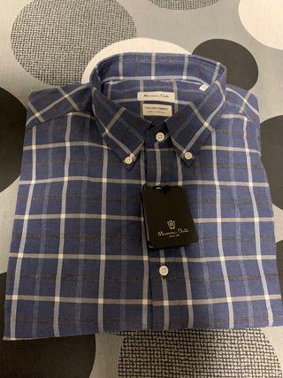Camisa de cuadros de Massimo Dutti