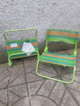sillas Playa nuevas