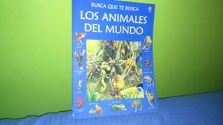 LOS ANIMALES DEL MUNDO . libro infantil