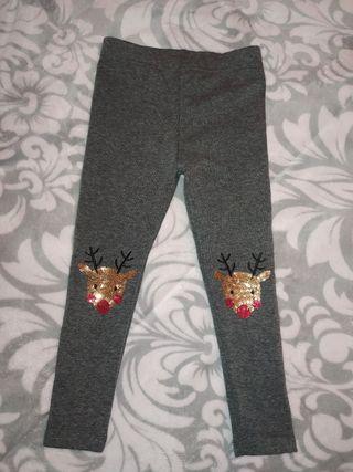 pantalón leggins niña 3/4 años