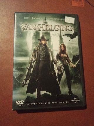 DVD pelicula Van Helsing