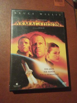 DVD pelicula Armagedon