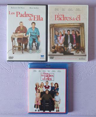 TRILOGÍA BLU-RAY+DVD