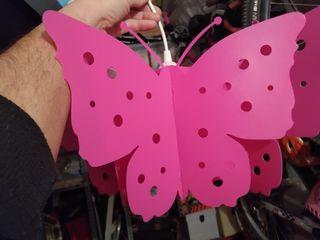 Lámpara de techo mariposa