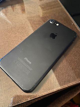 iPhone 7 32GB negro mate para piezas