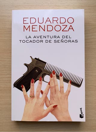 "Novela ""La aventura del tocador de señoras"""