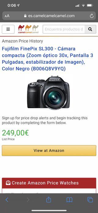 Cámara Fujifilm FinePix SL300