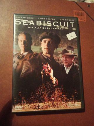 DVD pelicula Seabiscuit
