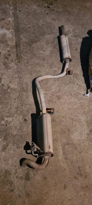 tubo de escape seat arosa