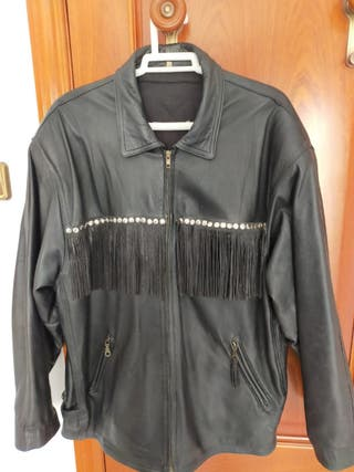 chaqueta motera de mujer