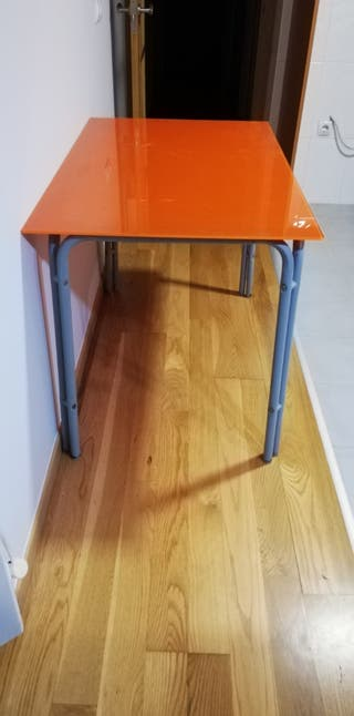mesa de cocina cristal