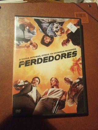 DVD pelicula Los perdedores