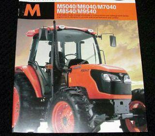 tractor kubota m8540