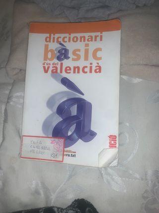 DICCIONARI BÁSIC VALENCIÀ