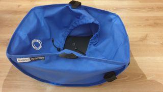 cesta azul royal carro Bugaboo camaleon 1 y 2
