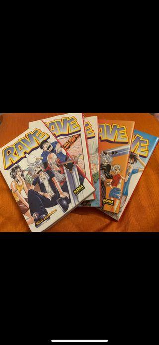 RAVE 1-5 MANGA
