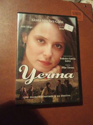 DVD pelicula Yerma