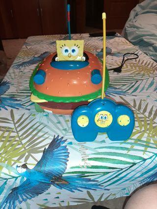 coche teledirigido bob esponja