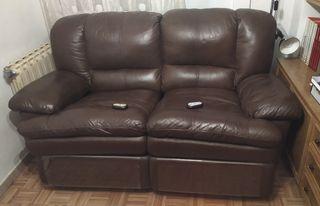Sofa relax piel