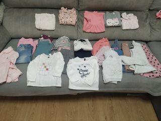 Lote ropa bebé niña 18 meses.