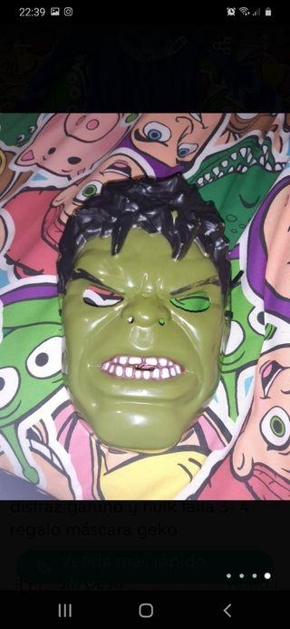 disfraz hulk 3-4