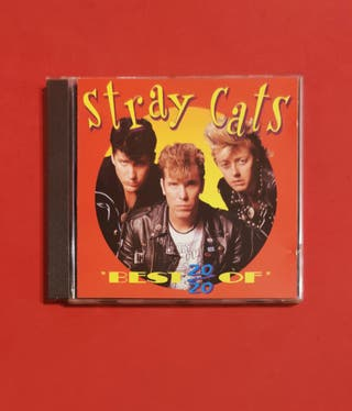 CD STRAY CATS best 20/20 of