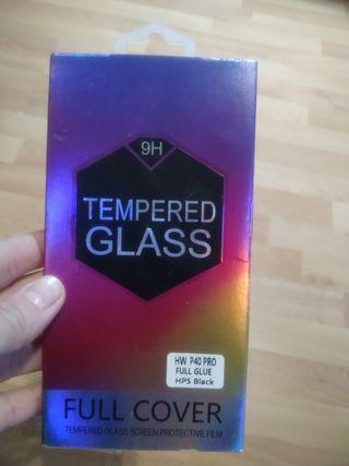 cristal templado Huawei P40 Pro, nuevo!