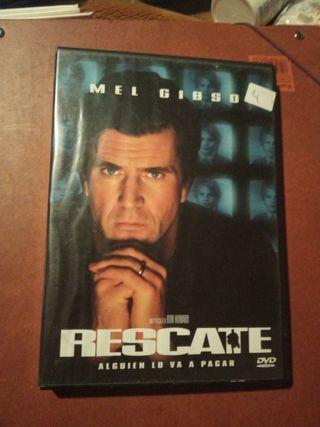 DVD pelicula Rescate