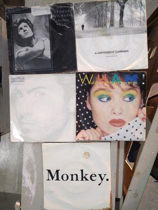 5 singles vinilo George Michael