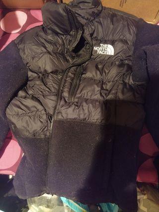 chaqueta polar north face talla s