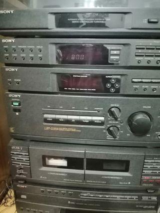 Equipo de música hi fi Sony