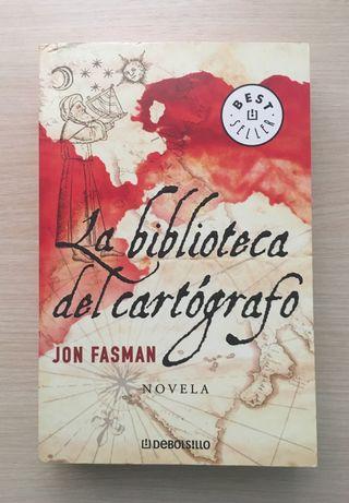 """Novela de bolsillo """"La biblioteca del cartógrafo"""""""