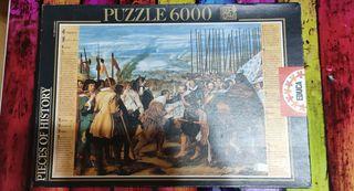 Puzzle 6000 La Rendición de Breda de Velázquez