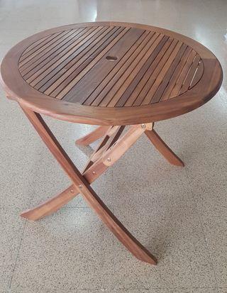 mesa madera nueva