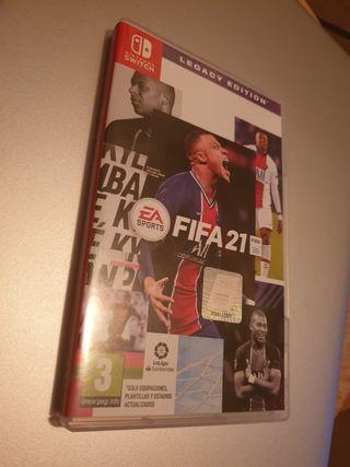 NUEVO FIFA 21 NINTENDO SWITCH