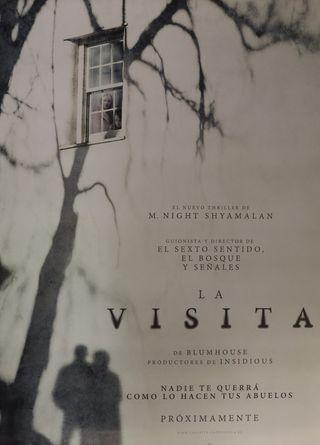 PÓSTER LA VISITA
