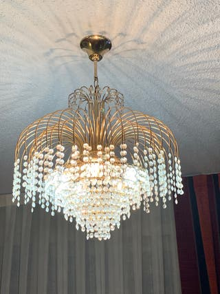 Lámparas de techo de cristales