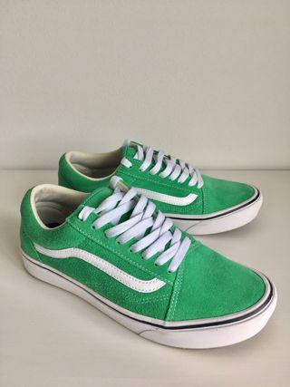 Vans Comfycush old skool verde