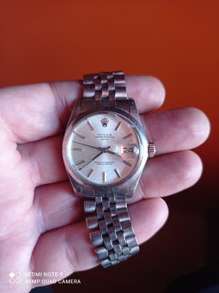 Rolex Date 1500 armis jubilee vintage antiguo