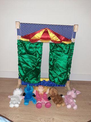 Teatro de marionetas de imaginarium