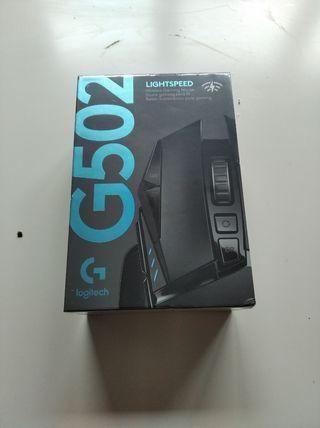 RATON GAMER LOGITECH LIGHTSPEED G502 NUEVO!!